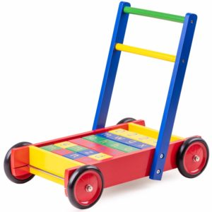 This is an image of a Babywalker with ABC Blocks