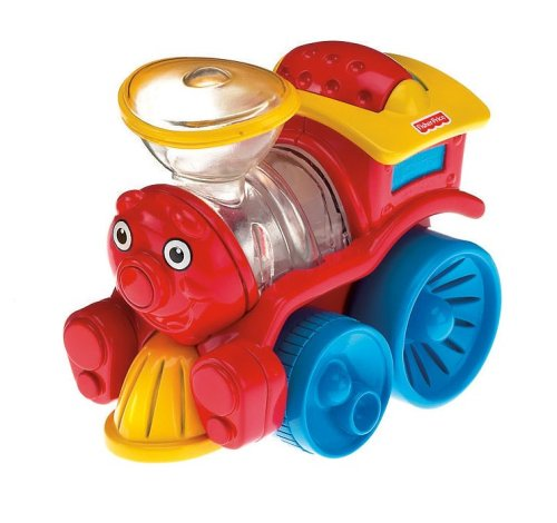 This is an image of a toy Brilliant Basics Poppity Pop Train