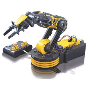 this is an image of a toy Building Kit for a Robotic Arm