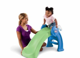 This is an image of Little Tikes Easy Store Slide
