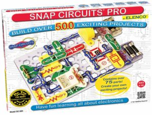 this is an image Snap Circuits Extreme SC-750 set