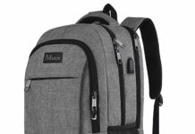this is an image of a travel laptop backpack for teens