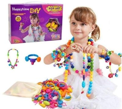 This is an image of baby girls diy jewelry kit