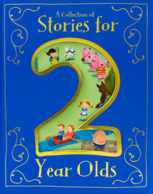 This is an image of baby 2 year old book a collection of stories