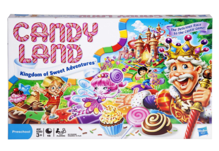 This is an image of a sweet adventure board game for kids.