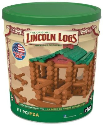 This is an image of kids wooden construction education toy