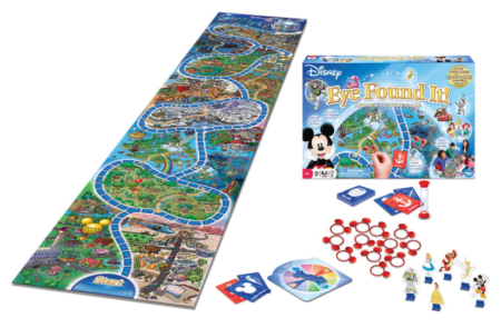 This is an image of a Dinsey board game for the whole family.