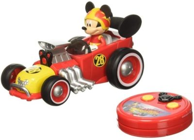 This is an image of toddler remote control car with disney mickey design