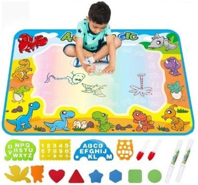 This is an image of kids drawing mat for kids