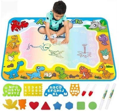 This is an image of baby drawing mat for kids in colorful colors