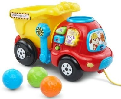 This is an image of baby drop and go truck