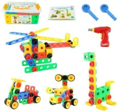 This is an image of kids educational construction building set for kids