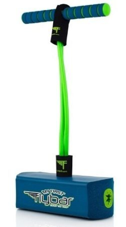 This is an image of blue kids foam pogo jumper