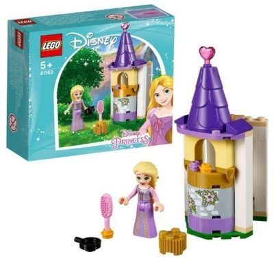 This is an image of girls lego disney rapunzel's petite tower building kit