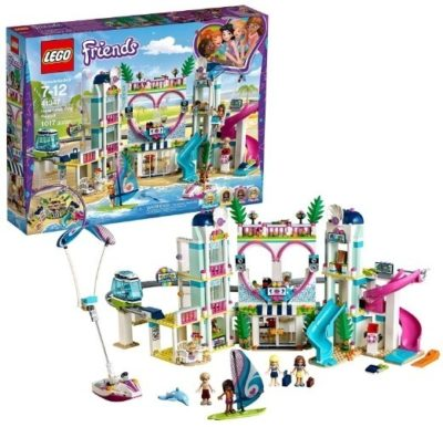 This is an image of girls lego firends hearlake city resort