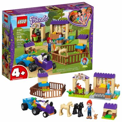 This is an image of girls lego friends stable building kit