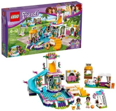 This is an image of kids lego friends heartlake building set