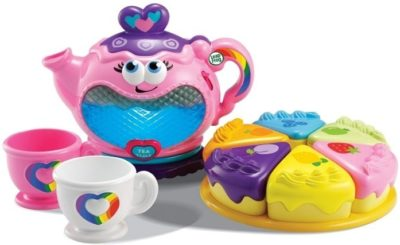 This is an image of baby party musical rainbow tea