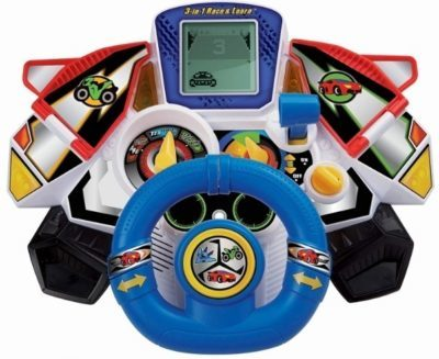 This is an image of baby race and learn toy 3 in 1 by VTech