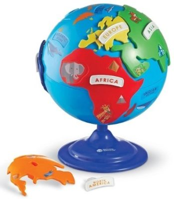 This is an image of kids puzzle globe