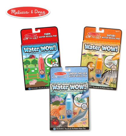 This is an image of a pack of 3 water pads for kids.
