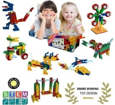 This is an image of kids STEM construction toys kit set for kids