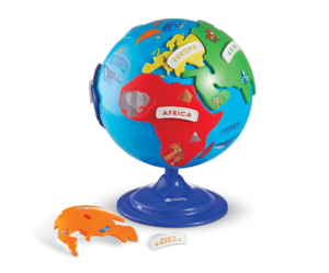 this is an image of a puzzle globe from learning resources