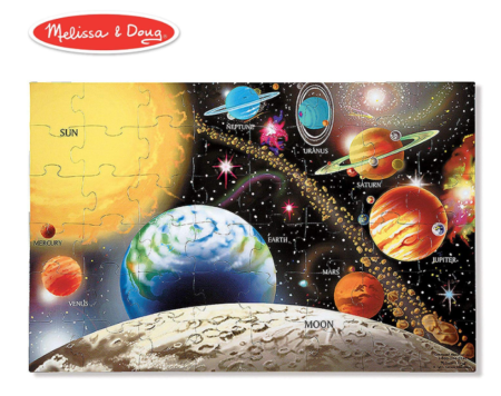 This is an image of a solar system activity set for kids.