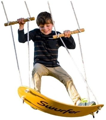 This is an image of stand up surfing swing for kids