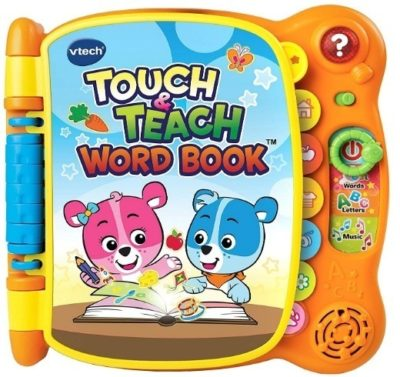 This is an image of baby touch and teach book