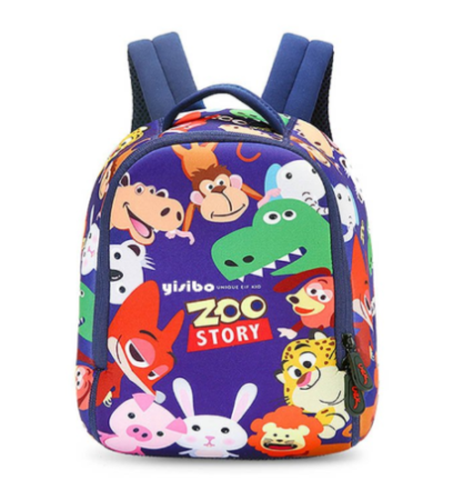 This is an image of a lightweight zoo backpack for kids.