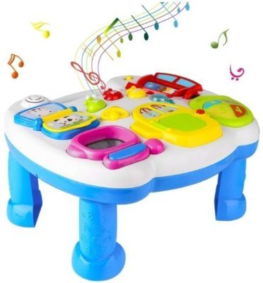 This is an image of baby table musical activity learning