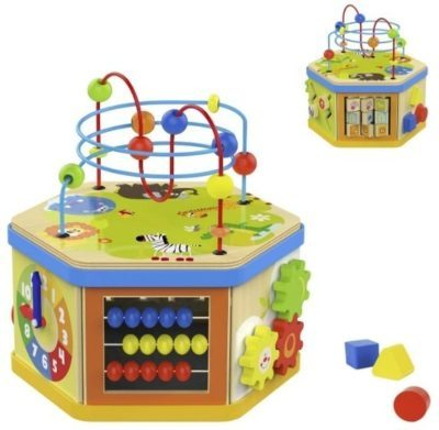 This is an image of baby educational activity cube
