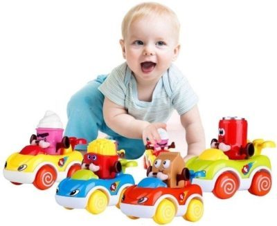 This is an image of baby infant car toys