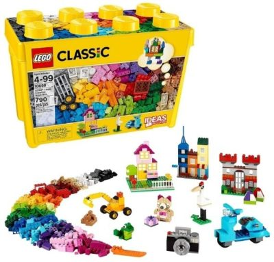 This is an image of kids lego classic large creative brick box