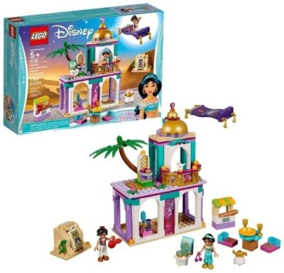 This is an image of girls lego disney aladdin