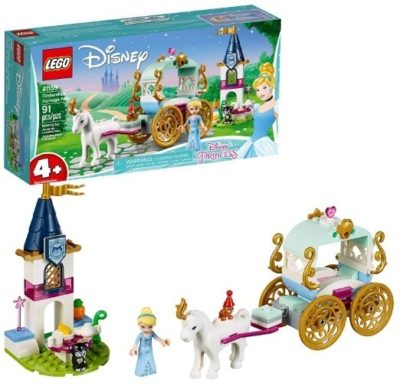 This is an image of girls lego disney building kit