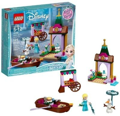 This is an image of girls lego disney frozen building set