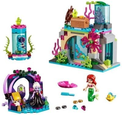 This is an image of girls lego disney magical spell building kit