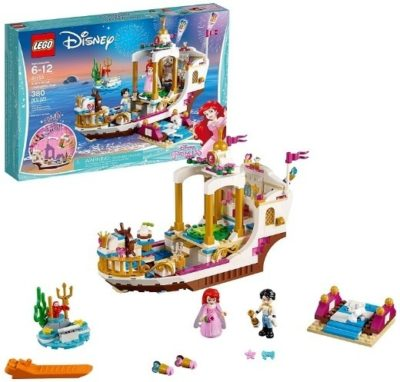 This is an image of baby lego disney princess royal celebration boat