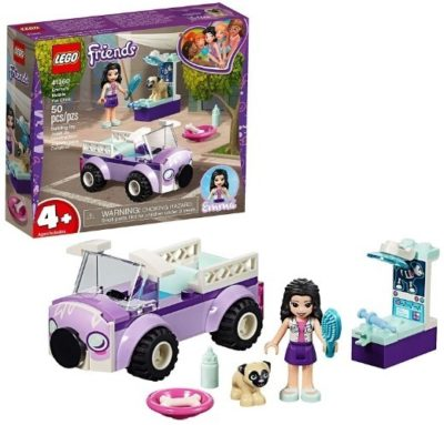 This is an image of girls lego friends movile vet clinic