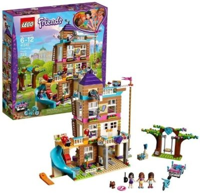 This is an image of girls lego friendship house building kit