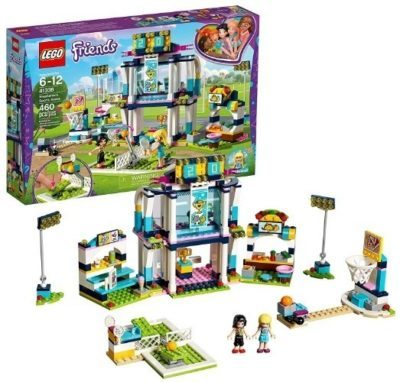 This is an image of girls lego freinds stephanie's sports area building set