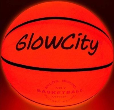This is an image of kids light up basketball uses led lighting