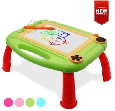 This is an image of baby magnetic doodle board in green color design