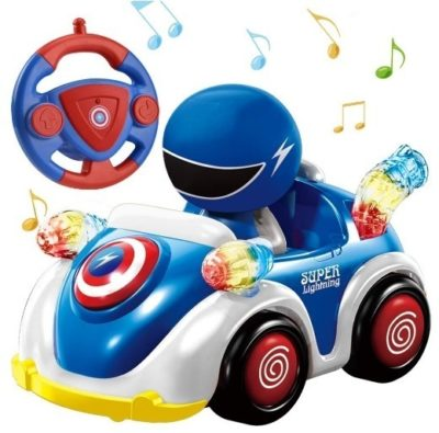 This is an image of toddler remote control car with music
