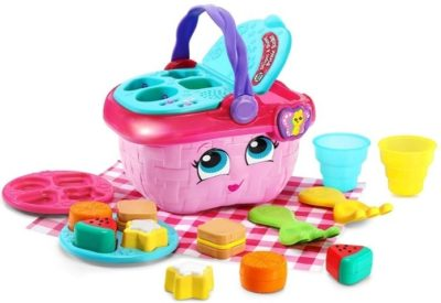 This is an image of baby picnic basket in multi colors