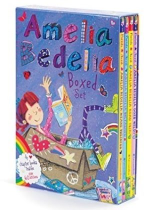 This is an image of girl's book Amelia bedelia box set