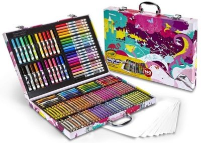 This is an image of girl's Art case by crayola