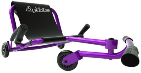 This is an image of girl's classic ride on in purple color